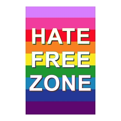 Hate Free Zone 11