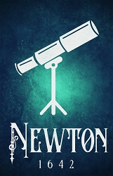 Newton Science Poster  - [11'' x 17'']