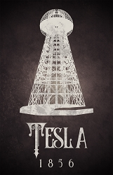 Tesla Science Poster  - [11'' x 17'']