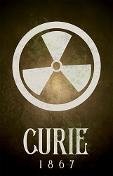 Curie Science Poster  - [11'' x 17'']
