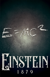 Einstein Science Poster  - [11'' x 17'']