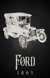 Ford Science Poster  - [11'' x 17'']
