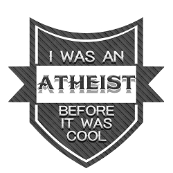 I Was an Atheist Before It Was Cool Bumper Sticker 4.75