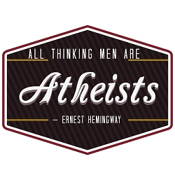 All Thinking Men are Atheists Bumper Sticker 5