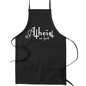 Atheist as F*ck Kitchen Apron