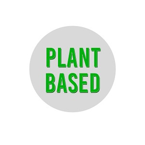 "Plant Based 1.25"" Pinback Button"