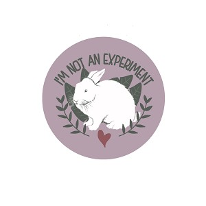 "I'm Not an Experiment 1.25"" Pinback Button"