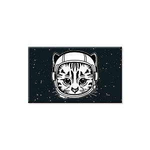 "Space Cat Refrigerator Magnet  - [3"" x 2""]"