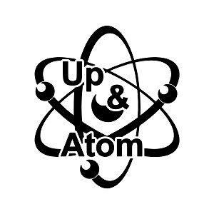 Up and Atom Weatherproof Vinyl Decal