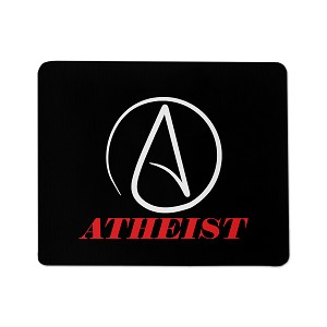Circle Atheist Mouse Pad