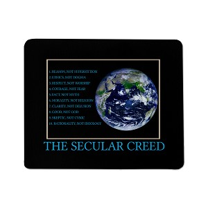 Secular Creed Mouse Pad