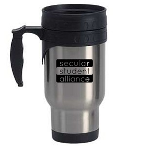 Secular Student Alliance 12 oz. Travel Mug
