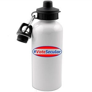 #VoteSecular 20 oz. Water Bottle