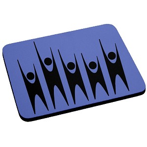 Humanist Mouse Pad