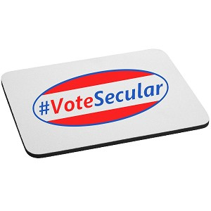 #VoteSecular Mouse Pad
