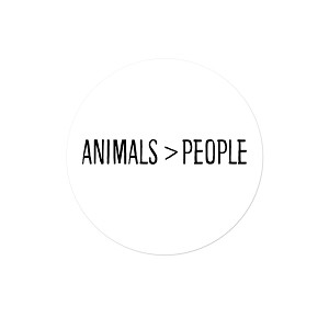 "Animals > People 1.25"" Button"