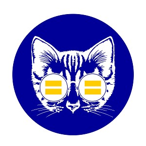 "Equality Cat 1.25"" Button"