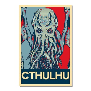 "Cthulhu 11"" x 17"" Poster"